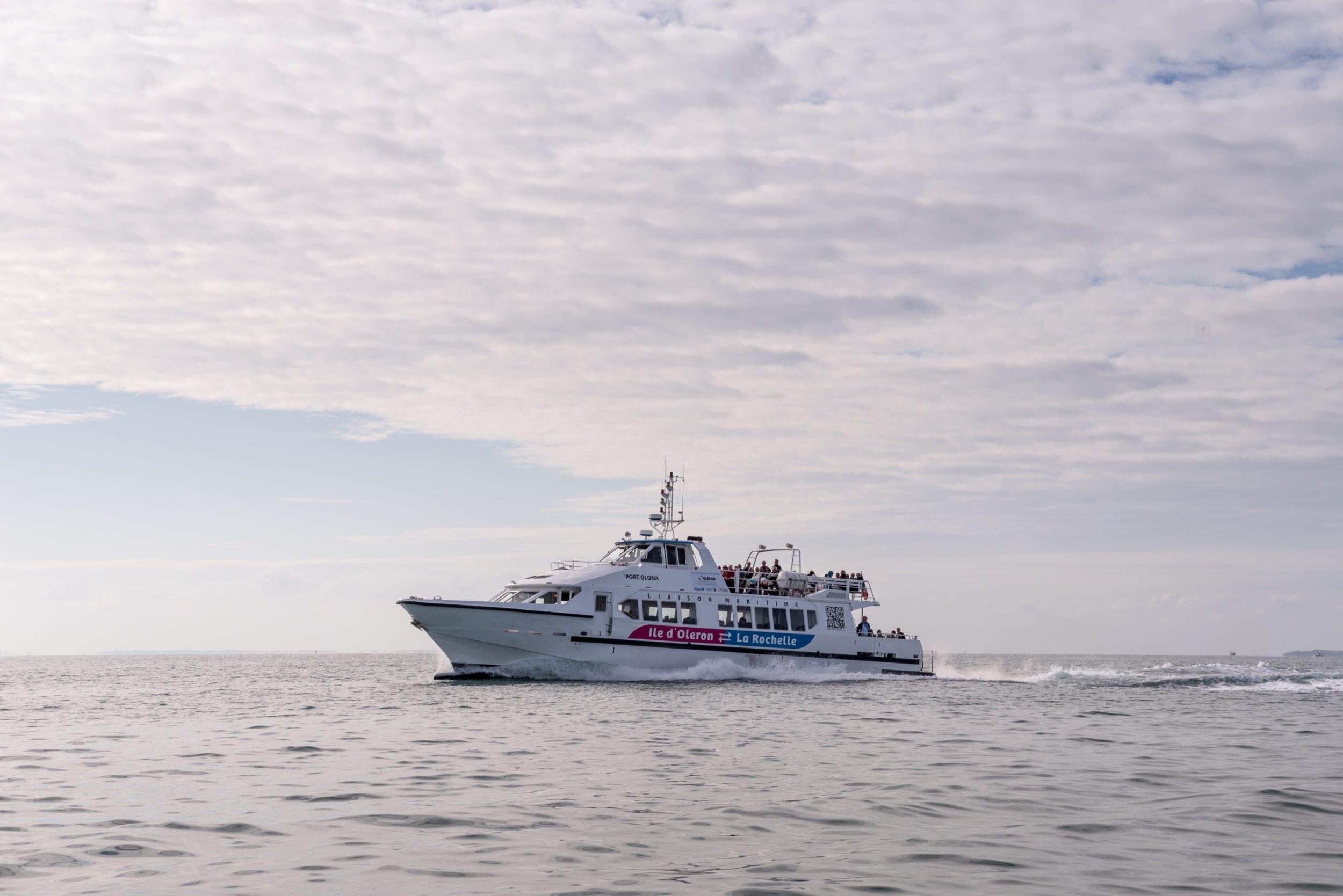 Liaison Maritime île D Oléron La Rochelle Communauté De Communes De L Ile D Oléron